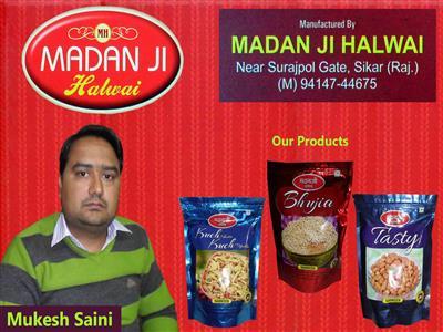Madanji Halwai ( Saini Food Products )